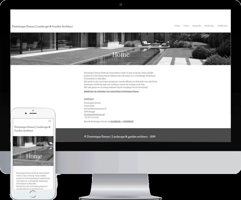 Webdesign Brugge - ontwerp website Eeman