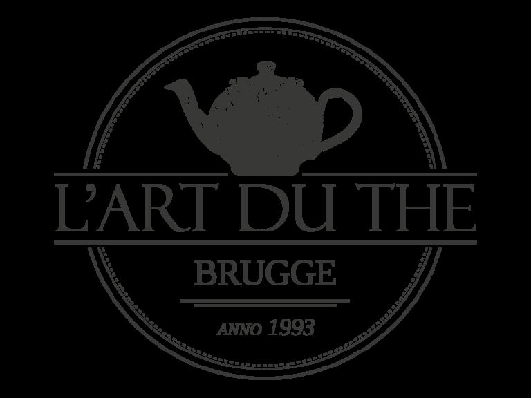 Ontwerp logo l'art du the - door grafisch bureau Agates te Brugge